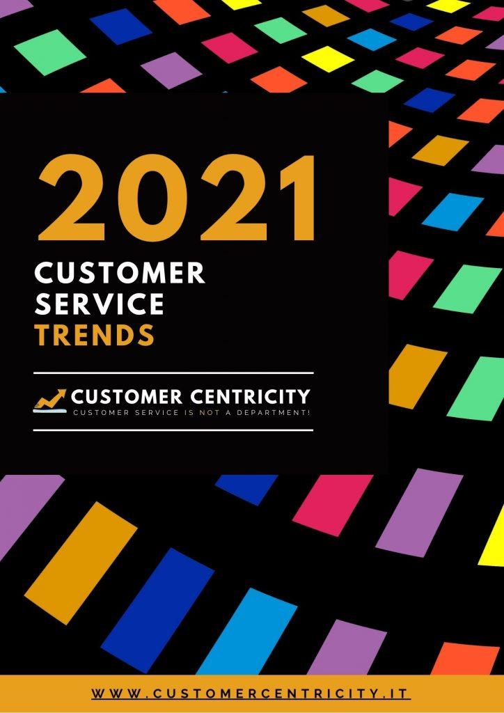 2021 Customer Service Trends Report: i risultati dell'indagine