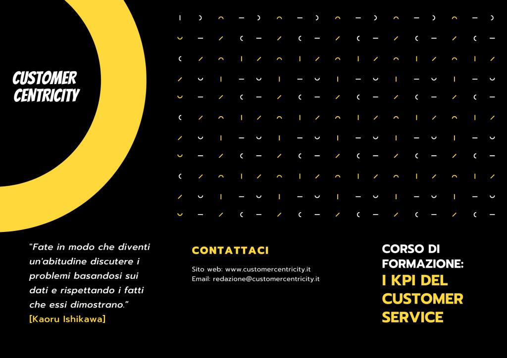 I KPI del Customer Service (Corso di formazione)